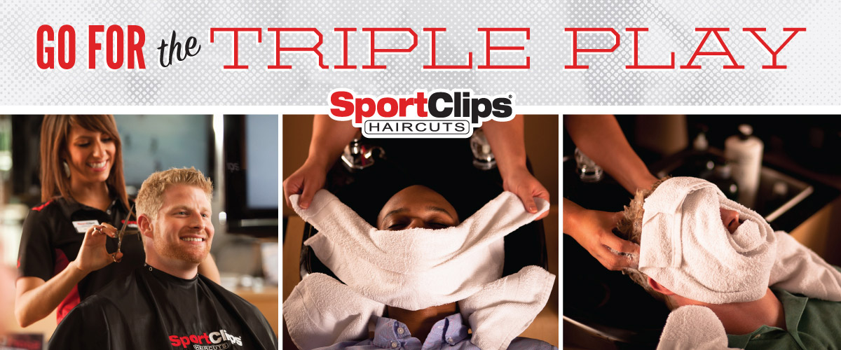 The Sport Clips Haircuts of East Bend Triple Play
